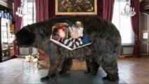 Un artiste va se glisser dans la peau d'un ours pendant treize jours