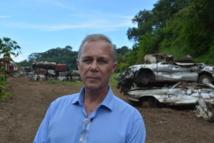 Geffry Salmon annonce un investissement de 80 millions de francs fcp pour débarrasser la Polynésie de ses carcasses de voitures.