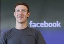 Facebook: le PDG Mark Zuckerberg se contente d'un salaire symbolique
