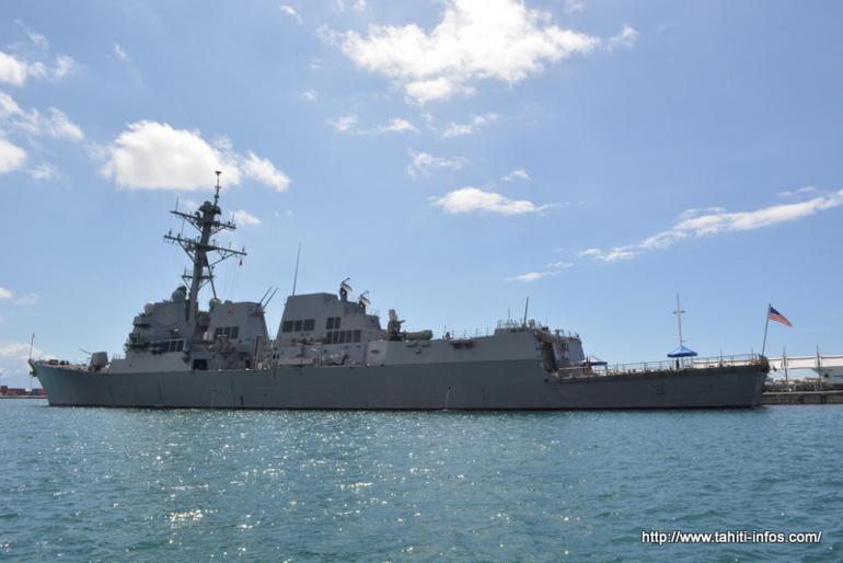 """Le """"Guided Missile Destroyer"""" USS Wayne E. Meyer (DDG-108)"""