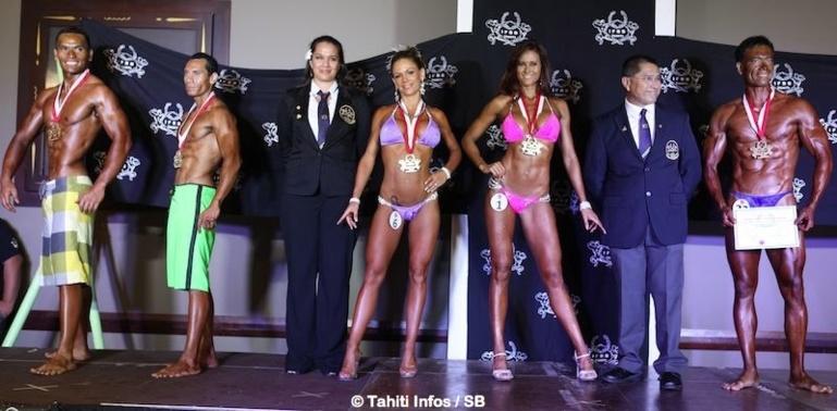 Bodybuilding local – Steve Cheung Piou sur la première marche du podium