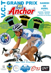 Cyclisme : le grand prix Anchor se déroulera le samedi 5 avril à Mahina