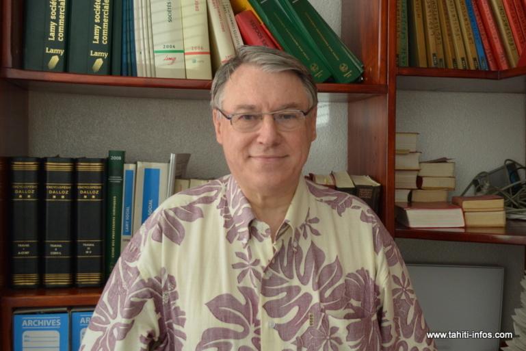 L'avocat Frank Marchand est le spécialiste polynésien du droit des NTIC