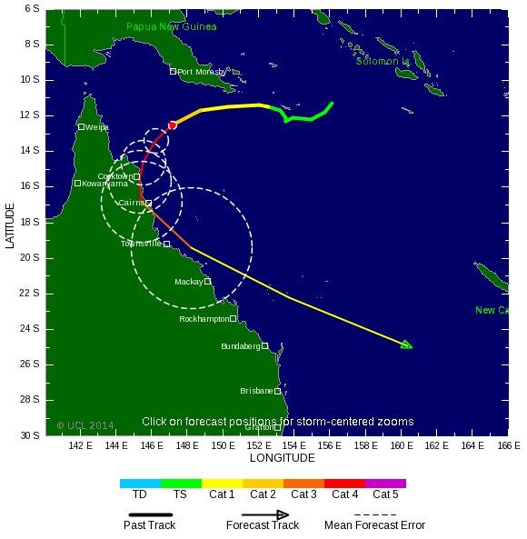 Australie : alerte maximale pour le cyclone Ita
