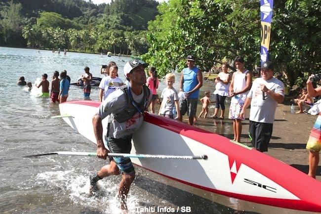 IRON SUP à Papeari – Pari gagné pour Georges Cronstadt !