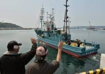 Une flottille baleinière japonaise lève l'ancre, trois semaines après le verdict de la CIJ