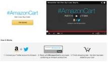 Les internautes peuvent faire leurs courses sur Amazon avec leur compte Twitter