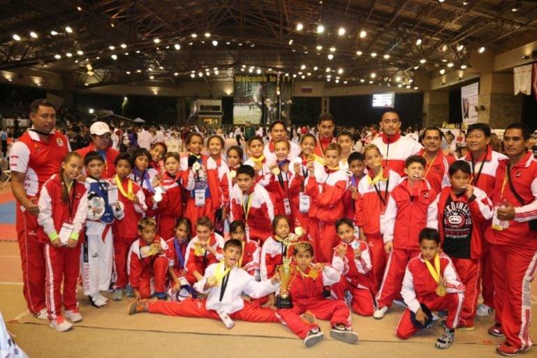 21ème 'International Taekwondo Festival' : Carton plein à Los Angeles pour l'équipe de Tahiti Benjamins-Minimes.