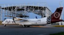 Le nouvel ATR-72-600 de Fiji Link, déjà frappé des nouvelles couleurs de la compagnie, est prêt à être livré.