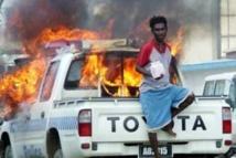 imaghe archives émeutes 2006