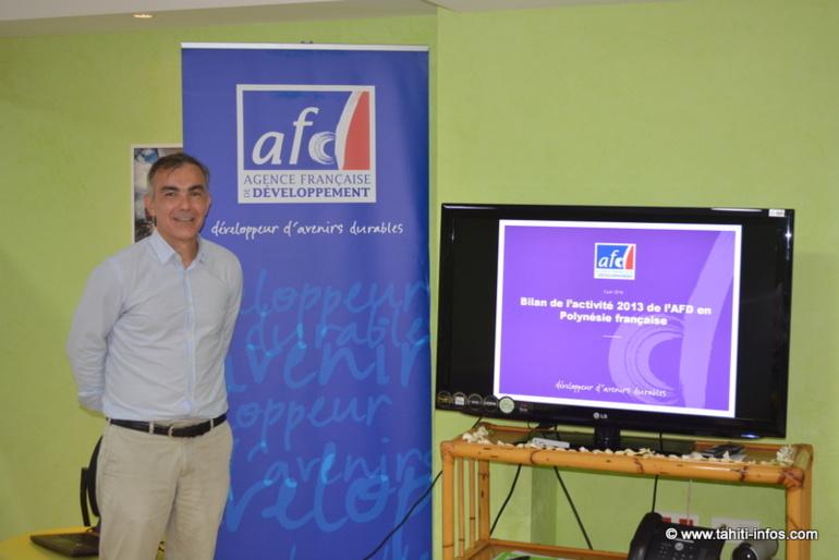 Frédéric Audras directeur de l'AFD en Polynésie