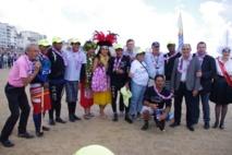 Vendée Va'a : le ministre des Sports assiste à la victoire du team EDT