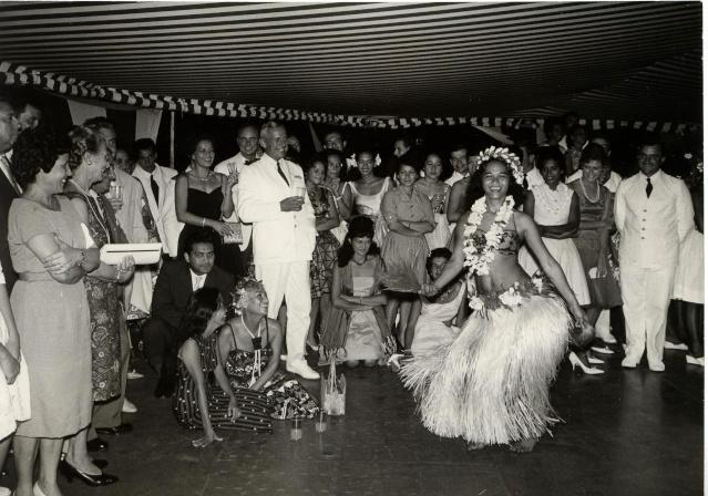 Bal dans les années 60 au Col Bleu