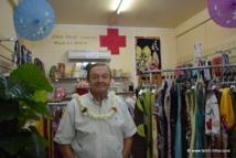 Inauguration de la boutique solidaire de la Croix Rouge à Papeete