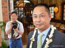 En février dernier, Cheng Wang le P-dg de Tian Rui venait de signer une convention liant sa société et le Pays pour installer une ferme aquacole dans les Tuamotu.