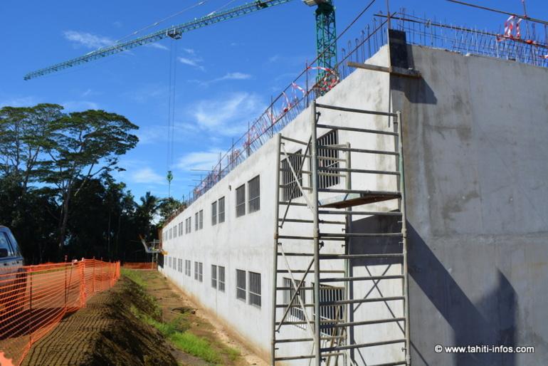 A Papeari se construit la prison du 21ème siècle