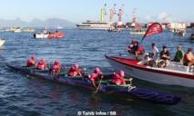 Va'a V6 –'Fa'ati Moorea' : Shell-Vodafone gagne, bat son record et dédie la course à Tainuiatea Vairaaroa