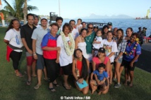 La famille de Tainui était présente