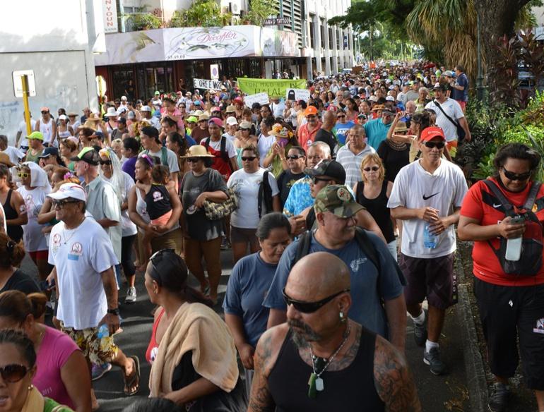 Nouveau défilé contre l'Imam et l'Islam à Tahiti