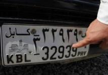 """Les automobilistes afghans appelés à surmonter la """"malédiction du numéro 39"""""""