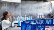 Plus de 3.000 personnes hospitalisées la semaine passée en raison de fortes chaleurs au Japon