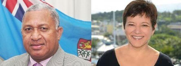 Le Premier Ministre fidjien envoie un message à la Présidente de la Nouvelle-Calédonie
