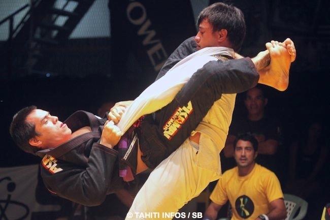 A Tahiti, Hoanui règne dans sa catégorie des - de 94 kg