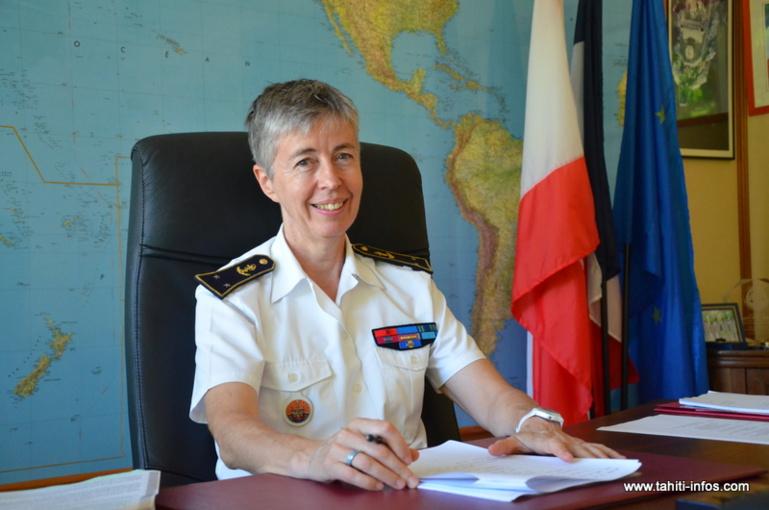 La contre-amiral Anne Cullère quitte le territoire le 11 août prochain, après une mission deux ans à la tête des forces armées en Polynésie française