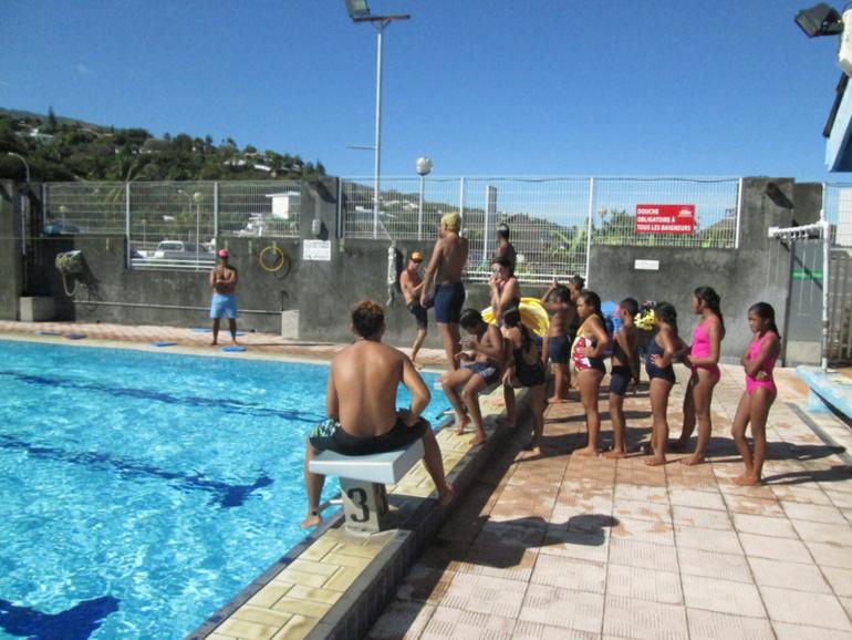 """Programme social  : le """"PISAN"""", la natation au service des enfants des familles modestes."""