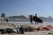 Ordures et animaux morts: le test olympique de voile de Rio fait peur