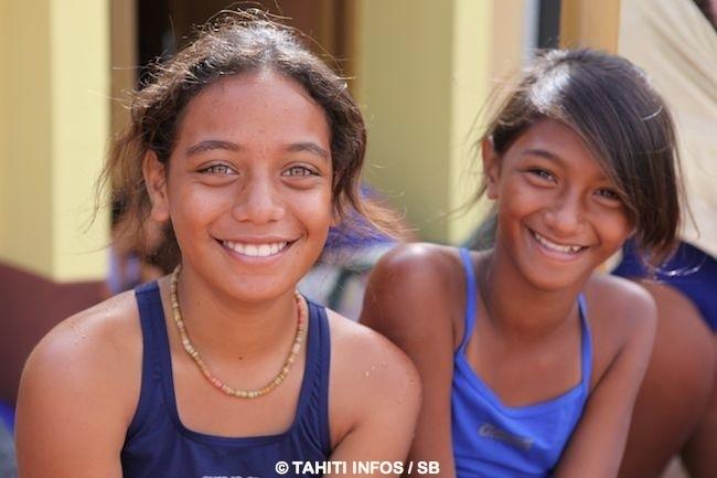 Les enfants ont le sourire !