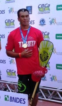Patrick VIRIAMU a remporté la médaille d'Or dans la catégorie Handisport