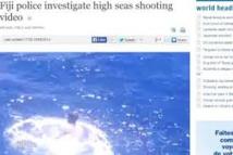 Vidéo de meurtre en haute mer : la police fidjienne exclut ses eaux