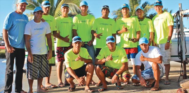 Va'a – Air Tahiti Nui Va'a : le club ambitieux organise sa première course !