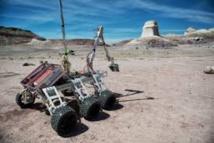 Des robots martiens s'affrontent sur terre battue en Pologne