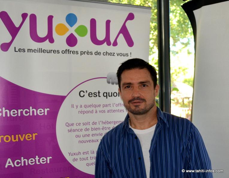 Guillaume Proia, cofondateur de Yuxuh