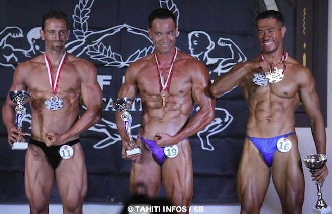Bodybuilding – 'Tahiti Nui Cup 2014' : les internationaux ratent leur avion, Steve Cheung Piou gagne le concours !