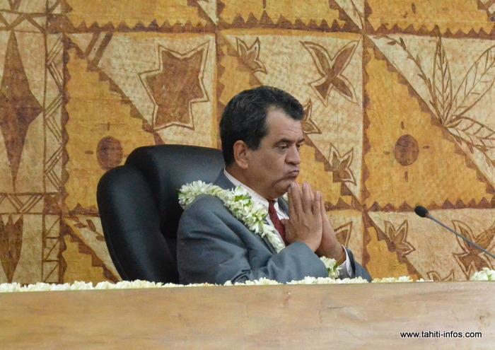 Edouard Fritch est désigné par le Tahoera'a pour assumer la Présidence de la Polynésie française. L'élection est programmée ce vendredi 12 septembre, à l'Assemblée.