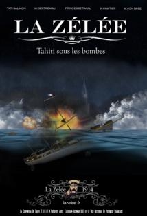 La Zélée, porte d'entrée de la Grande guerre à Tahiti avec un web-documentaire
