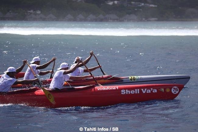 Shell-Vodafone A a failli revenir en tête juste avant Taapuna