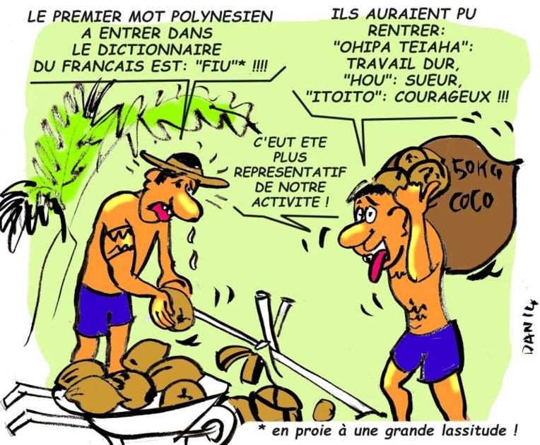 Ces mots qui viennent de loin : du tahitien dans le français, ah bon ?