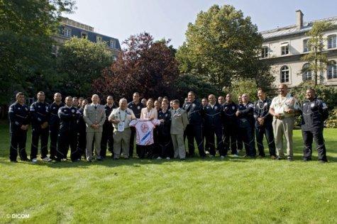 Le XV du Pacifique en visite au ministère des Outremer