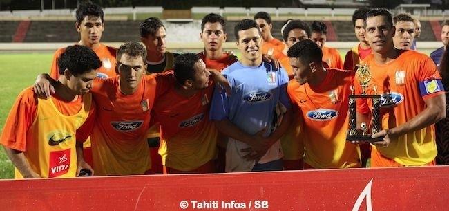 Pirae a perdu récemment contre Tefana lors du trophée des champions
