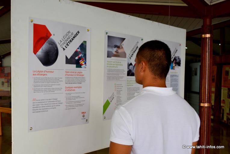 APF : Une exposition sur la Légion d'Honneur et la 1ère Guerre Mondiale en Polynésie