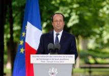 """Hollande réaffirme l'engagement de la France pour un """"accord universel sur le climat"""""""