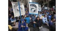 Climat: quelque 3.000 manifestants à Wall Street