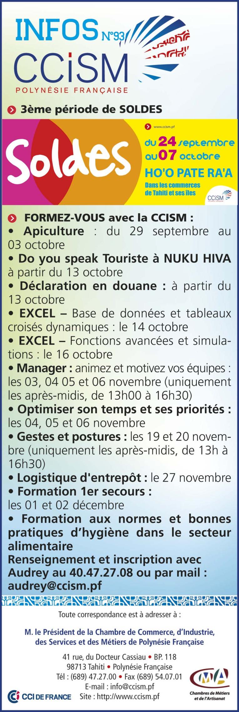 Infos CCISM N°93