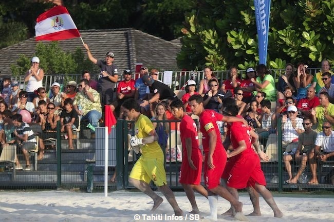 Beachsoccer – Tiki Toa vs Angleterre : victoire 4 – 1 pour Tahiti !