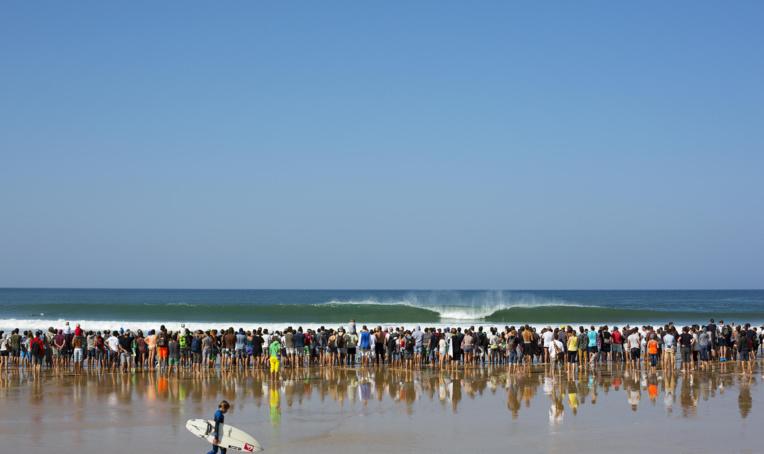 Surf International – Quiksilver Pro France : Michel Bourez sort au round 3 après une série sans vagues !