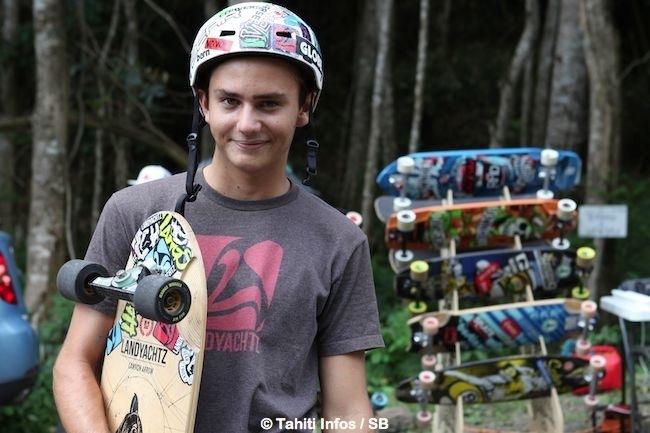 Skate – démo de 'longboard' : la naissance du premier club de skate à Tahiti !